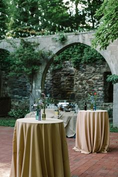 Romantic Pennsylvania Wedding from M2 Photography - cocktail hour idea