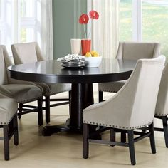 "Monarch Specialties I 1714 Granville Pedestal Table - IT DOES EXPAND $984! K LIKES Niquara Beeks Customer Service Representative  Allied Trade Group, Inc [w] ATGStores.com [p] 425-814-2515 x2594 [f] 425-814-3875 [e] support@atgstores.com COMES WITH 1 LEAF - EXPANDS TO 6'4"" (FROM 4'6"") AND IS AN OVAL"