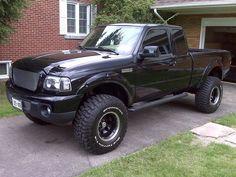 Modifikasi Ford Ranger Sangar