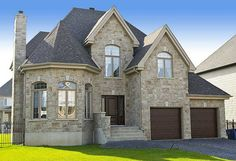 Plan W90017PD: Narrow Lot, Canadian, Metric, European, Photo Gallery House Plans & Home Designs