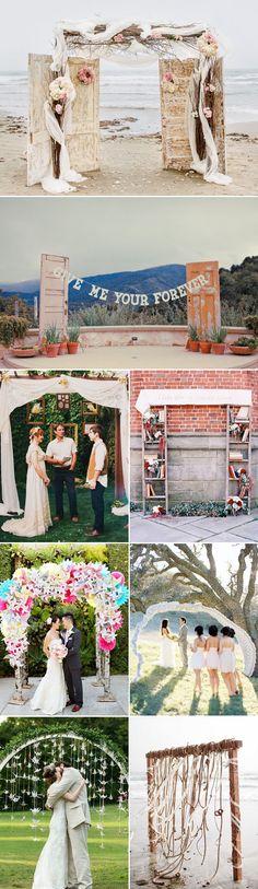 50 Beautiful Wedding Arch Decoration Ideas - Creative and Unique
