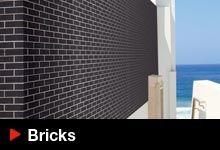 A wide range of bricks