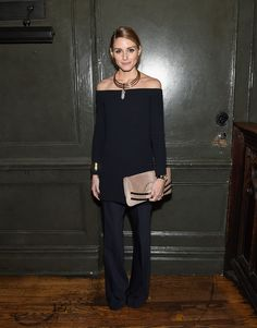 Olivia Palermo Wore a Dress and Pants — and It Totally Worked