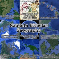New Golden Age - Mandela Effect: Our world is getting better New Mandela Effect, What Is Change, Northern Island, New Britain, Little Island, Human Anatomy, Great Lakes, Science And Nature, Pacific Ocean