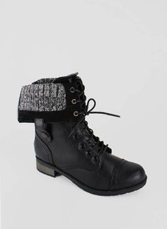 Daily steal: Canvas combat boots, $40 | Happy, Combat boots and Boots