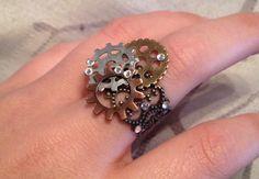 Steampunk #jewelry #diy
