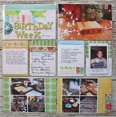 Love the little grid collages in the bottom two spaces!
