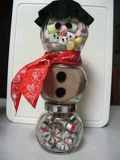 Plum Jam: Teacher Gift - Snowmen Christmas Ideas, Christmas Crafts, Xmas, Plum Jam, Santa Clause, Tis The Season, Snowmen, Holidays And Events, Homemade Gifts