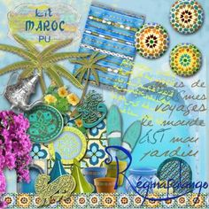FREEBIE : KIT-MAROC - Free-digiscrap.com : le digiscrap gratuit ! The free…