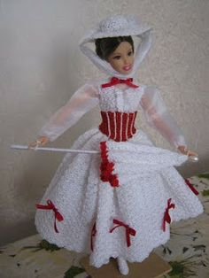 Barbie MARY POPPINS   Crocheart