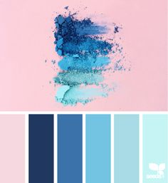 Color Crush Blue Paletteblush