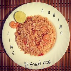 #food food food Fried rice #delicious delicious delicious