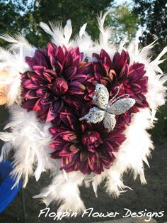 Butterfly homecoming mum