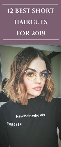 12 BEST SHORT HAIRCUTS FOR 2019  #hair #haircut #hairstyle #womenhair #shorthair