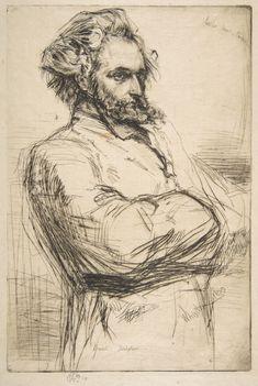 James McNeill Whistler | Drouet (C.L. Drouet, Sculptor) | The Metropolitan Museum of Art