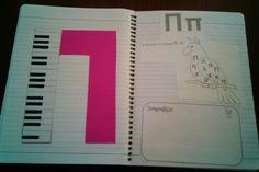 Π Greek Alphabet, Book Letters, Alphabet Activities, Babysitting, Mathematics, Diy And Crafts, Teaching, Education, School