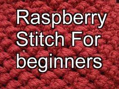 Raspberry Crochet Stitch