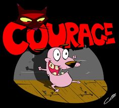 Courage the Cowardly Dog- notebook drawing Cartoon Network, Cadena Cartoon, Courage The Cowardly Dog, Notebook Drawing, Dog Boarding Near Me, Pinturas Disney, Dog Wallpaper, Dog Show, Cool Cartoons