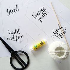 DIY - DOUBLE MOOD WIMPEL - ALS FREEBIE ZUM DOWNLOAD / what a lovely day