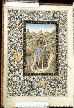 Book of Hours, MS M.854 fol. 20v - Images from Medieval and Renaissance Manuscripts - The Morgan Library & Museum