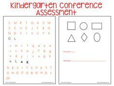 Parent Teacher Conferences Assessment--- Free