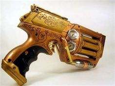 steampunk weapons