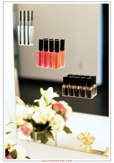 We love these unique ways to organize your makeup collection!
