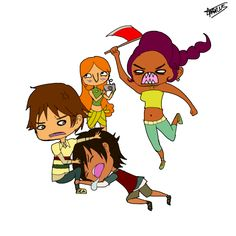 NoCo Chibi Madness by ~Marcusqwj on deviantART