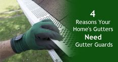 4 Benefits of Installing Gutter Guards with Your Homes Gutters