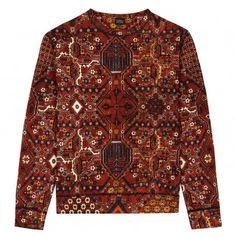 Mey Meh Sweatshirt Carpet Print
