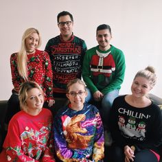 Less than a week left before Christmas and the Christmas spirit is still alive and well! Happy #NationalUglySweaterDay! 🎅🎄#InsanelySmartIdeas#Agency #AgencyLife #Marketing #Advertising #NewportBeach #OrangeCounty #California #Ugly #Christmas #Sweater #Holiday #Spirit #SquadGoals #FridayFeeling #InstaGood