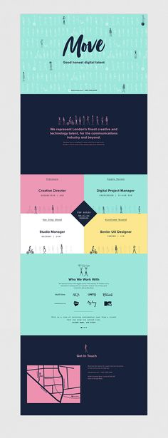 Move Identity and site design on Behance