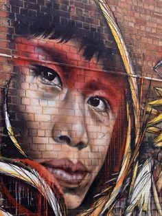Street art @ Fitzroy, Melbourne