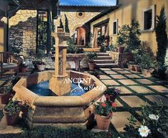 Antique pool fountains are suitable for all types of indoors and outdoors applications such as pools and spas, front yards and courtyards, side yards and backyards. Those special ancient stone fountains are pivotal in projecting the ultimate south European Italian and French provincial charm to any given space. They are very limited and are becoming less and less available year after year. Phone: 212-461-0245 // 212-913-9588 Website: www.AncientSurfaces.com Email: Sales@ancientsurfaces.com