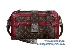 High Quality Replica Louis Vuitton Monogram Canvas PETITE MALLE M41002 Burgundy