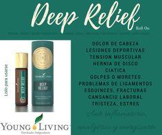 Deep Relief, mezcla lista para usarse, Young Living