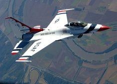 Thunderbirds!  F-16 Falcon