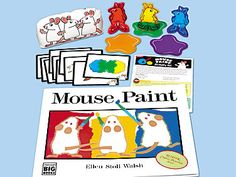 Mouse Paint Big Book Activity Kit at Lakeshore Learning Mouse Paint Activities, Book Activities, Activity Ideas, Teacher Magazine, Lakeshore Learning, Creative Curriculum, Kindergarten Art, Elementary Art, Art Lessons
