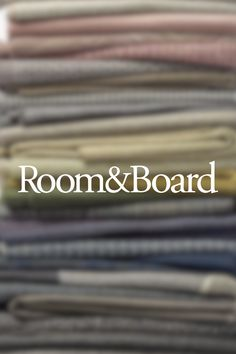 It's easy to find a fabric you love at Room & Board. We offer a selection of more than 300 upholstery fabrics to choose from! Order your free swatches today to find the one that's right for you.