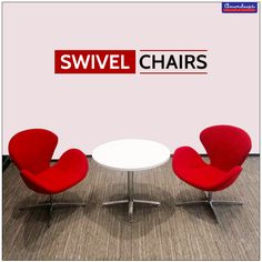 Take a seat. Let your back relax. Revolve around. #SwivelChairs