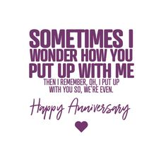 Happy Anniversary Quotes Funny, Anniversary Card Sayings, Anniversary Quotes For Husband, Anniversary Wishes For Friends, Marriage Anniversary, Jokes Quotes, True Quotes, Qoutes, Husband Humor