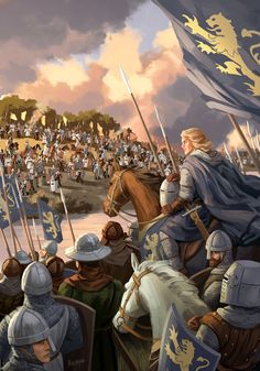 "Illustration for ""Jarlen och kungariket"" (LL-förlaget), a book about 13th century Swedish ruler Birger Jarl. At the beginning of his career, Birger led a crusade in Finland."