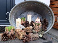 Haben Sie zu Hause eine Tonne aus Zink? Machen sie daraus eine schöne Herbstdekorationen für Ihr Zuhause... Großartige Beispiele! - DIY Bastelideen