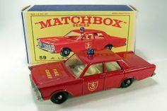 Matchbox Firechief Car. I still have this car.