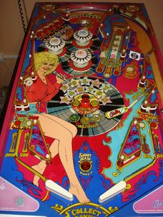 Bally Dolly Parton pinball machine