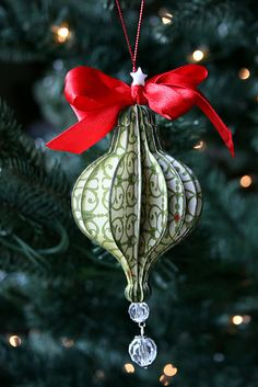 Great idea for an ornament.