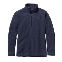 Patagonia Women\'s Better Sweater\u00AE 1\/4-Zip Fleece - Classic Navy CNY SIZE LARGE