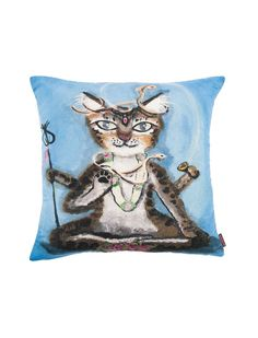 A suede cushion for catlovers:)