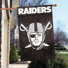Oakland Raiders Door Banner