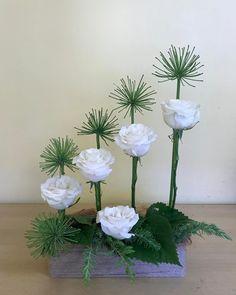"11 Gostos, 1 Comentários - Diana Cai (@theflowerstudiosyd) no Instagram: ""#flowers #agapanthus #roses #floralarrangement"" My Flower, Flower Art, Agapanthus, Arte Floral, Ikebana, Floral Arrangements, Floral Design, Christmas Decorations, Natural"